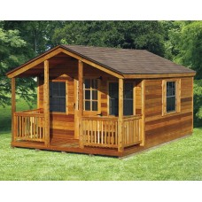 Cabin Kit with Porch
