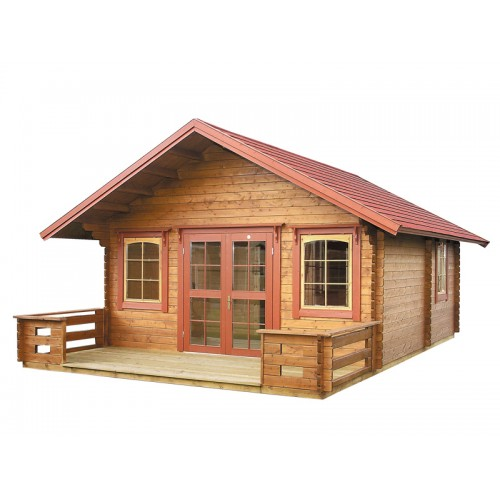 3 Room Cabin Kit With Loft
