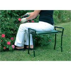 Outsunny Folding Garden Kneeler Bench Chair - Green