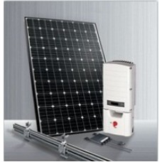 1,560KWH Monthly Output Grid Tie Solar System Kit w/ SolarEdge