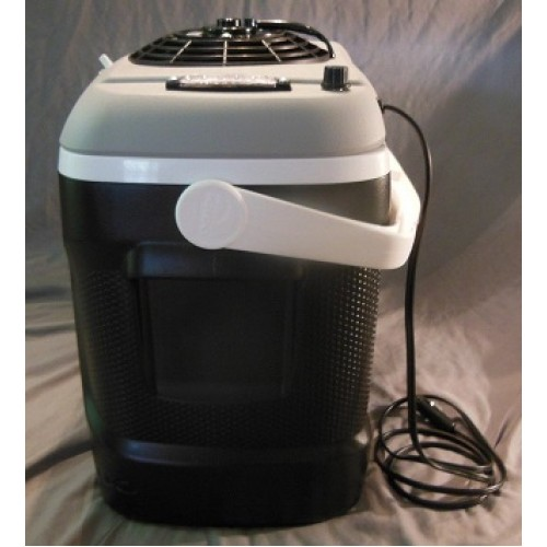 12v portable air conditioner cooler 100 watt solar kit for rv car boats trucks. Black Bedroom Furniture Sets. Home Design Ideas