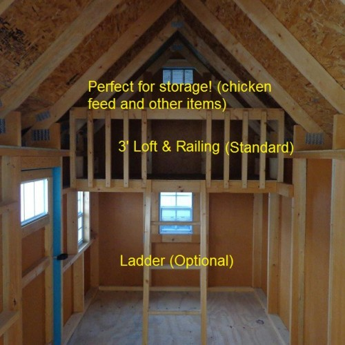 ... Amish Made GGC Classic 6 X 8 Chicken Coop For 25 U2013 30 Chickens ...