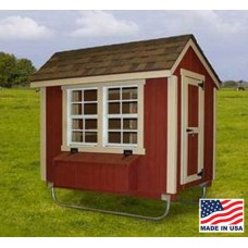 EZ-fit 4 x 6 Chicken Coop