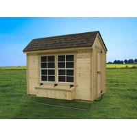 EZ-fit 5 x 8 Chicken Coop
