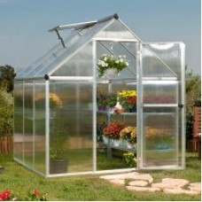 Palram Nature 6 x 6 ft. Greenhouse - Twin-Wall