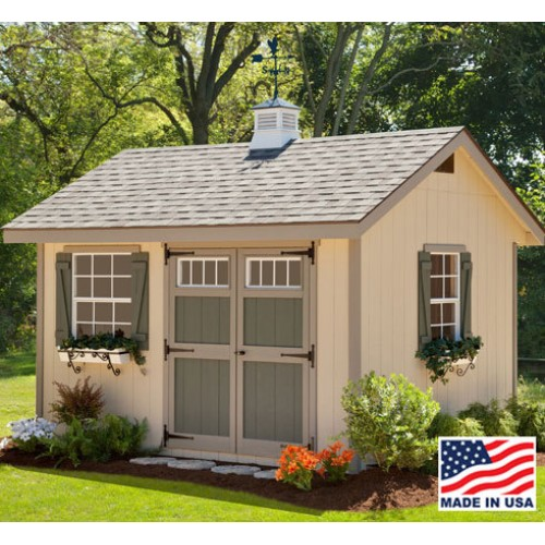 Shed Pictures Design: Amish Heritage 8' X 12' Coop For 40