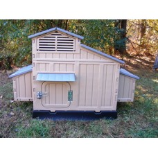 Large Plastic Chicken Coop Made In The USA For 8-12 BIRDS