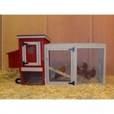 Made In The USA EZ-fit Miniature Chicken Coop For 3-5 Birds