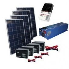 Remote Solar Cabin Package w/ 4000w Inverter
