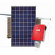 600KWH Monthly Output Grid Tie Solar System Kit