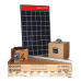 600 KWH Monthly Output Grid Tie Solar System Kit  w/ Micro Inverters