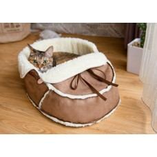 The Moccasin Pet Bed
