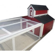 Red Barn Chicken Tractor For 6 to 8 Hens