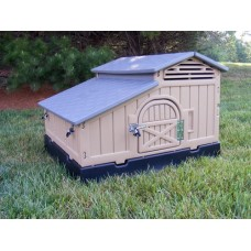 Small Plastic Chicken Coop Made In The USA For 2-4 BIRDS