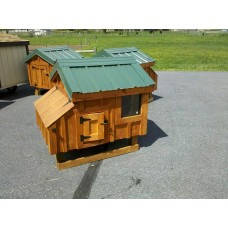 A-Frame Chicken Coop 3x4