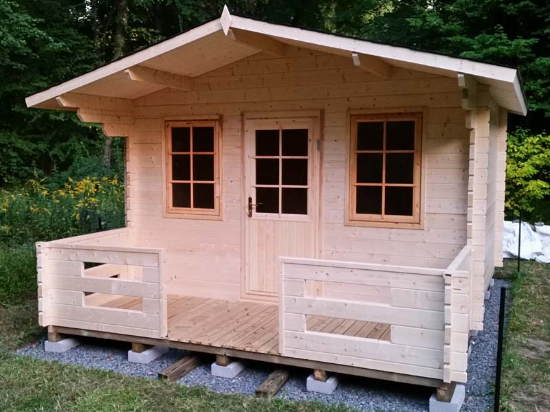 Off grid cabin under 10 000 for Green cabin kits